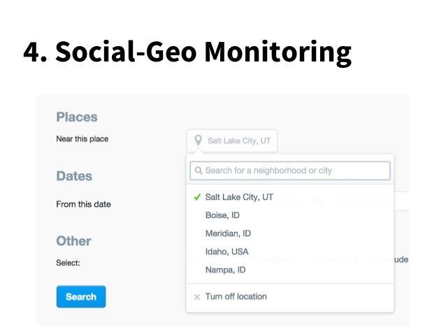 4. Social-Geo Monitoring