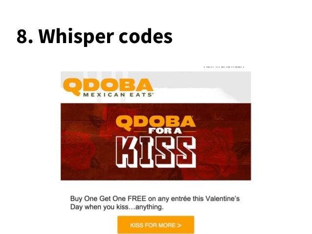 8. Whisper codes