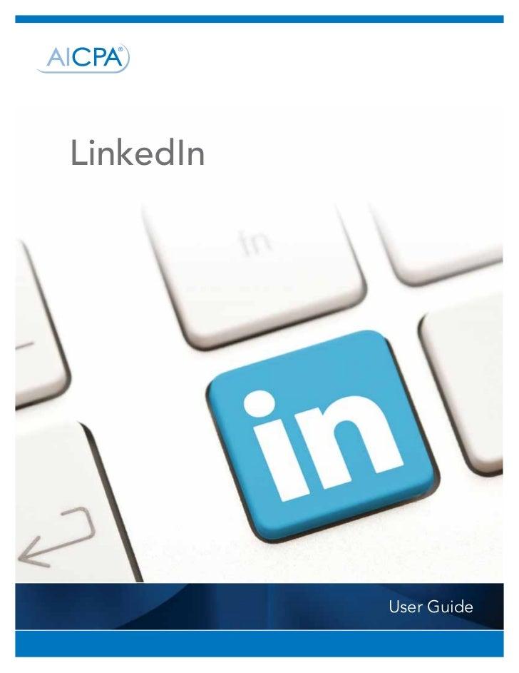 LinkedIn           User Guide