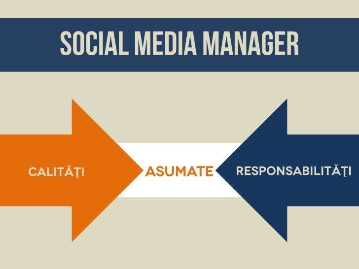 Abilităţi de Social Media Manager - Webstock