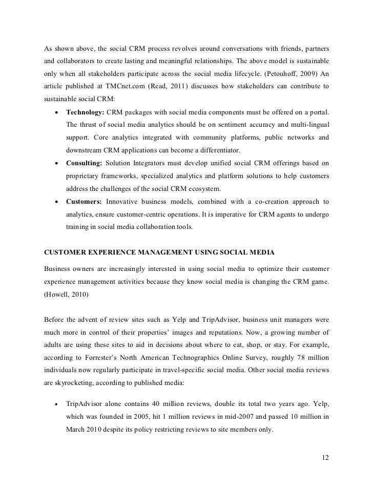 essay on social media for business development