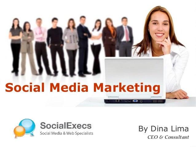 LOGO By Dina Lima CEO & Consultant Social Media Marketing