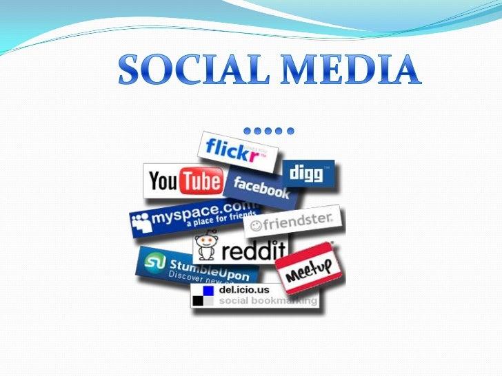 SOCIAL MEDIA …..<br />
