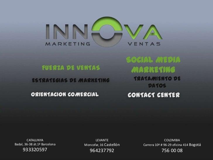 SOCIAL MEDIA                  FUERZA DE VENTAS                       MARKETING           ESTRATEGIAS DE MARKETING         ...