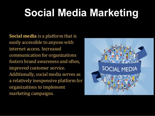 Social media is a platform that is easily accessible to anyone with internet access. Increased communication for organizat...