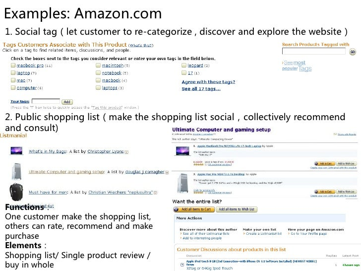 Examples: Amazon.com 3. Buyer expert(make a stage for the extreme customer*)     4. Open box                            • ...