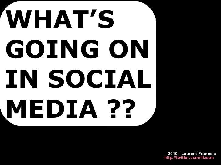 Social Media Marketing trends 2010