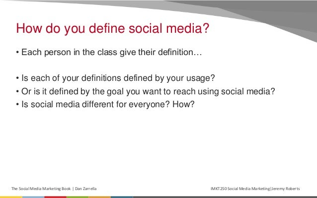 Social media marketing defined for Soil media definition