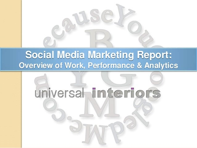 Social Media Marketing Report: Overview of Work, Performance & Analytics