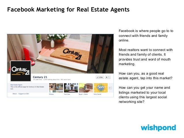 facebook marketing for real estate agents set up a facebook