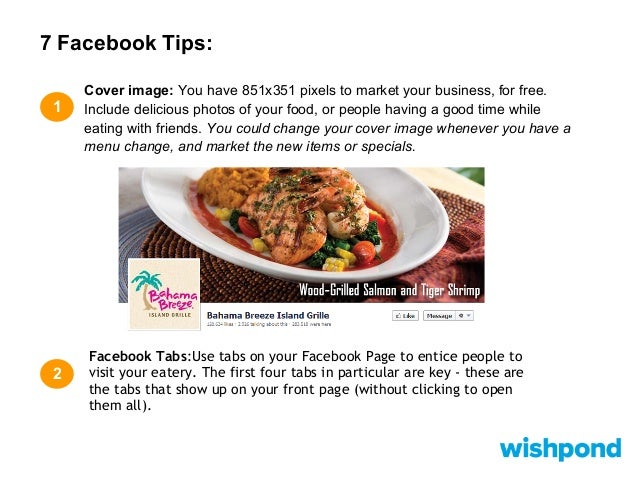 Best Facebook Ads For Restaurant Offers