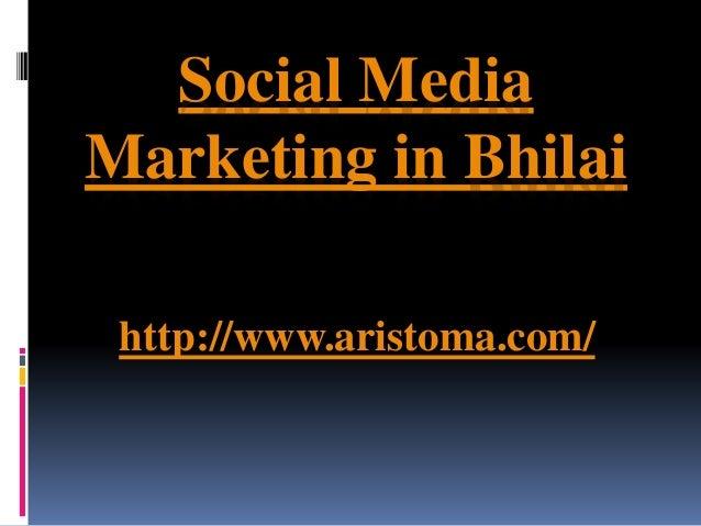 Social media marketing in bhilai - 웹