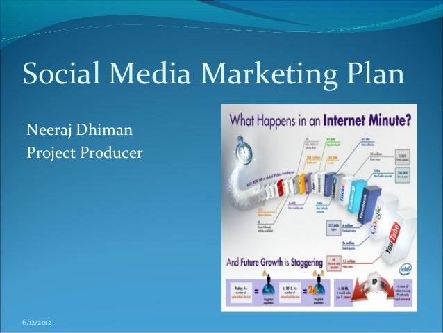 Social Media Marketing Plan Neeraj Dhiman Project Producer6/12/2012