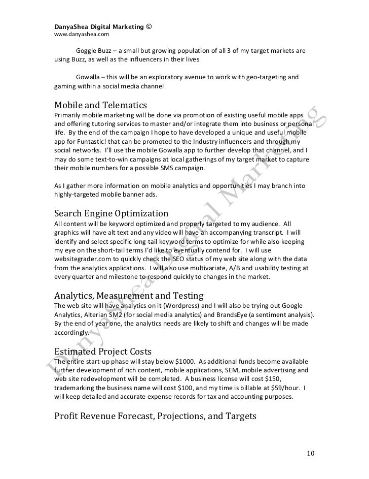 Sample Marketing Agreement Sample Marketing Plan Web Design