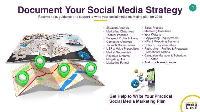 Social media marketing plan template 2018