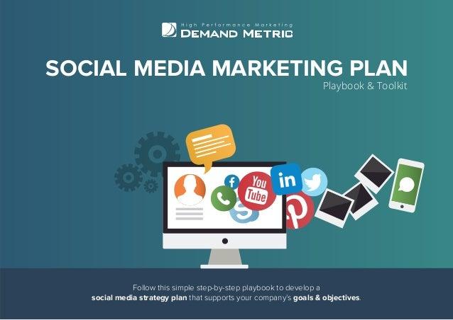 Social Media Marketing Plan Playbook