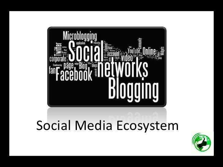 Social Media Ecosystem <br />