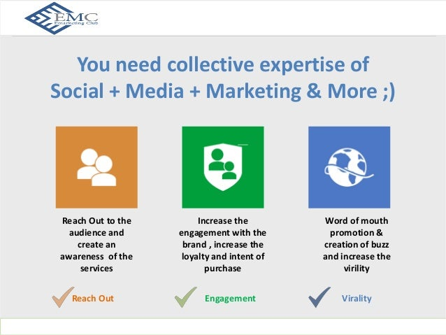 What Social Media Love?  You need collective expertise of  Social + Media + Marketing & More ;)  www.indusnet.co.in  Reach...