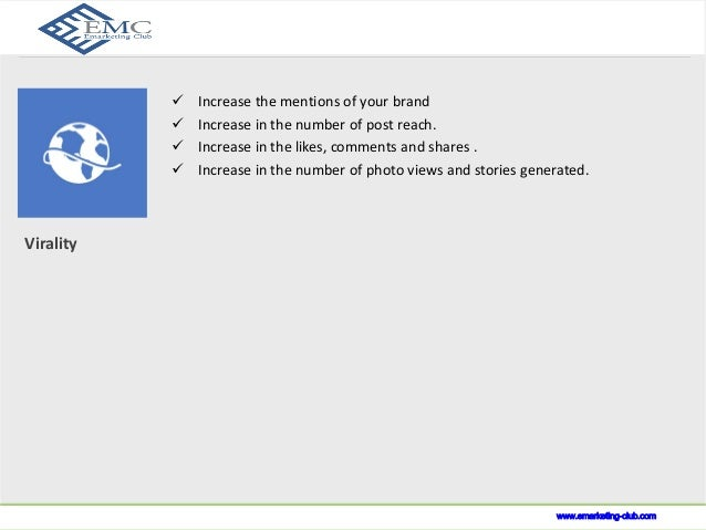 www.indusnet.co.in  Virality  What we do?   Increase the mentions of your brand   Increase in the number of post reach. ...