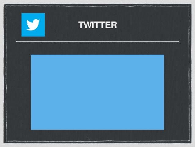 TWITTER Twitter's Best Kept Secret • Twitter Search www.search.twitter.com