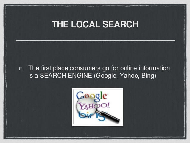 IMPROVE YOUR LOCAL SEARCH RANKINGS Using the Right Keywords and Local Identifiers (SEO). Listing your business in Local Di...