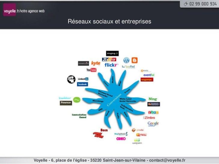 Réseaux sociaux et entreprisesVoyelle - 6, place de léglise - 35220 Saint-Jean-sur-Vilaine - contact@voyelle.fr