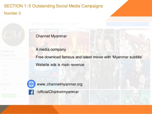 Social media marketing & MYANMAR