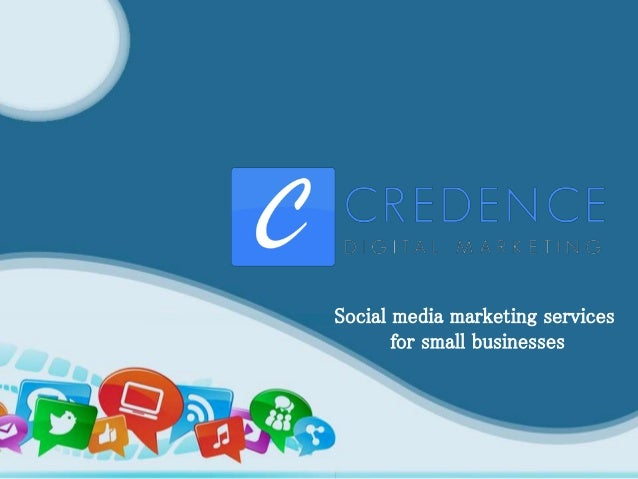 Social media marketing services for small businesses