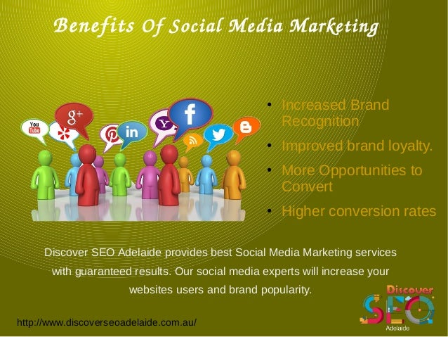 Social Media Marketing Services offer by Discover SEO Adelaide Slide 3