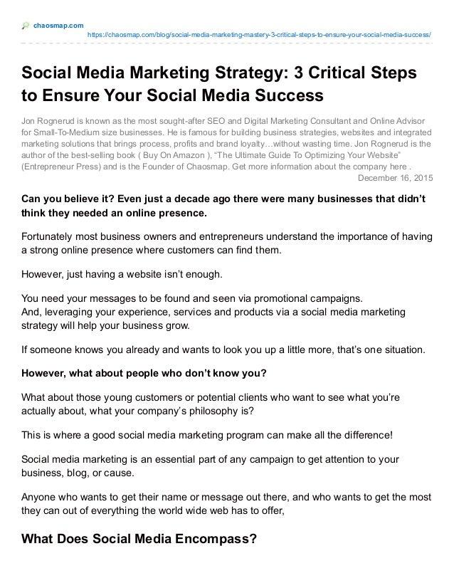 chaosmap.com https://chaosmap.com/blog/social-media-marketing-mastery-3-critical-steps-to-ensure-your-social-media-success...