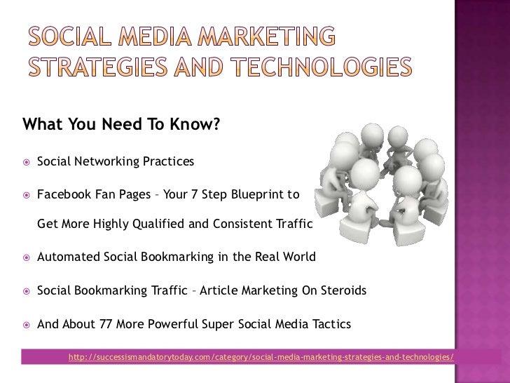 Social media marketing stratgeies and technologies Slide 3