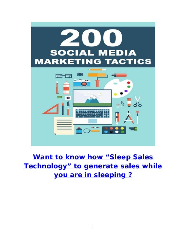 """1 Want to know how """"Sleep Sales Technology"""" to generate sales while you are in sleeping ?"""