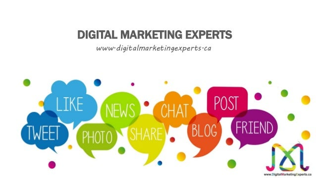 www.digitalmarketingexperts.ca DIGITAL MARKETING EXPERTS
