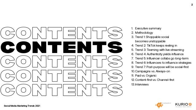 Social Media Marketing Trends 2021 // The Global Indie Insights Slide 2