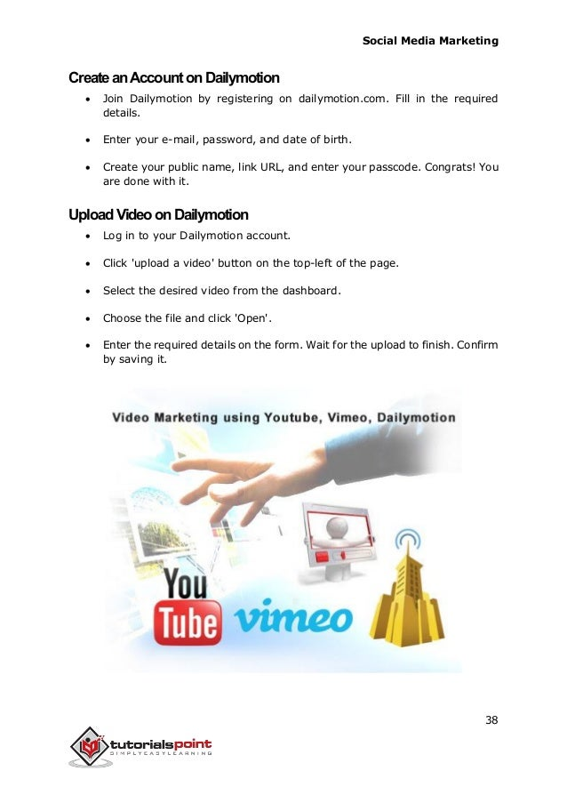 social media marketing tutorial pdf