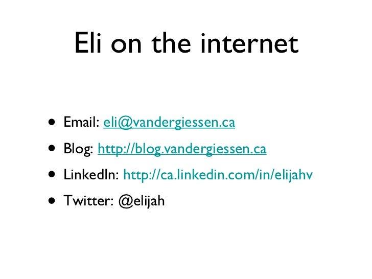 Social media marketing unplugged in calgary may 2011 Slide 2