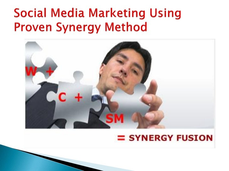 Synergy is two or more thingsfunctioning together to producea result not independentlyobtainable