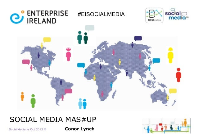 #EISOCIALMEDIASOCIAL MEDIA MAS#UPSocialMedia.ie Oct 2012 ©   Conor Lynch
