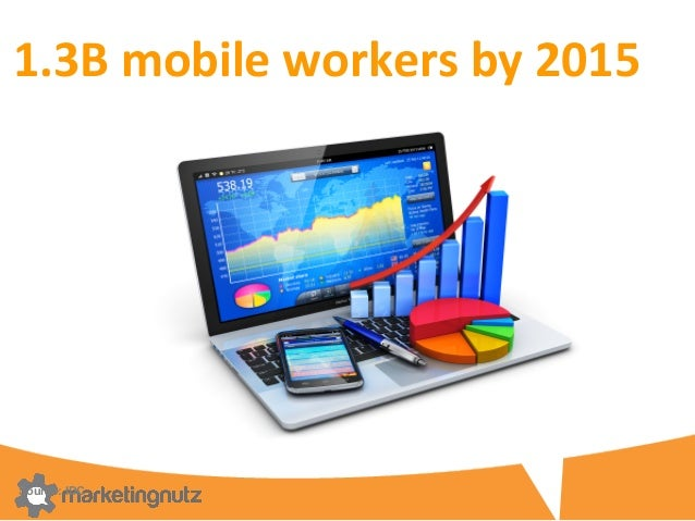1.3B  mobile  workers  by  2015   Source: IDC