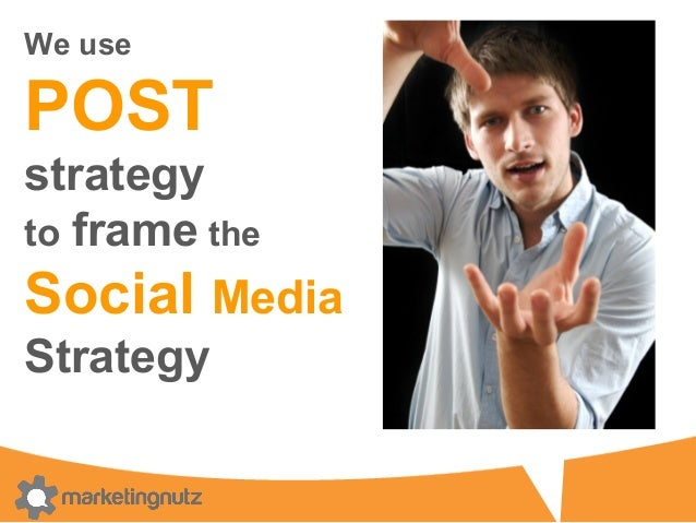 POST+GM P   O   S   T   People Identify WHO & assess their social activities What do you want to accomplish? WHY? ...