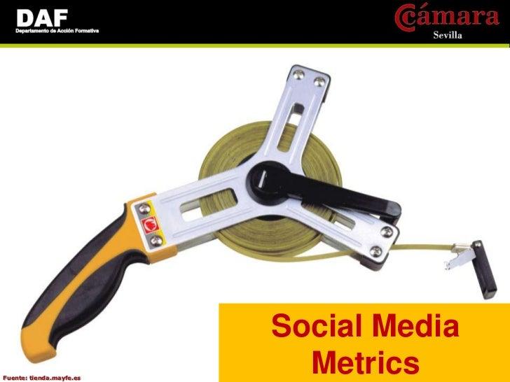 Social MediaFuente: tienda.mayfe.es                            Metrics