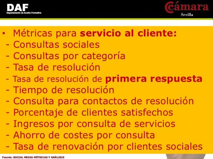 • Métricas para Relaciones Publicas: - Menciones sociales - Participación de una marca en el mercado - Alcance de la conve...