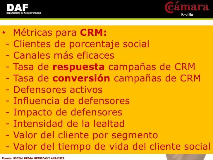 •     Métricas para Marketing: -    Visibilidad / conciencia de marca -    Crecimiento de adquisición del cliente -    Efe...