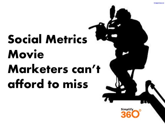 Image Source  Social Metrics Movie Marketers can't afford to miss