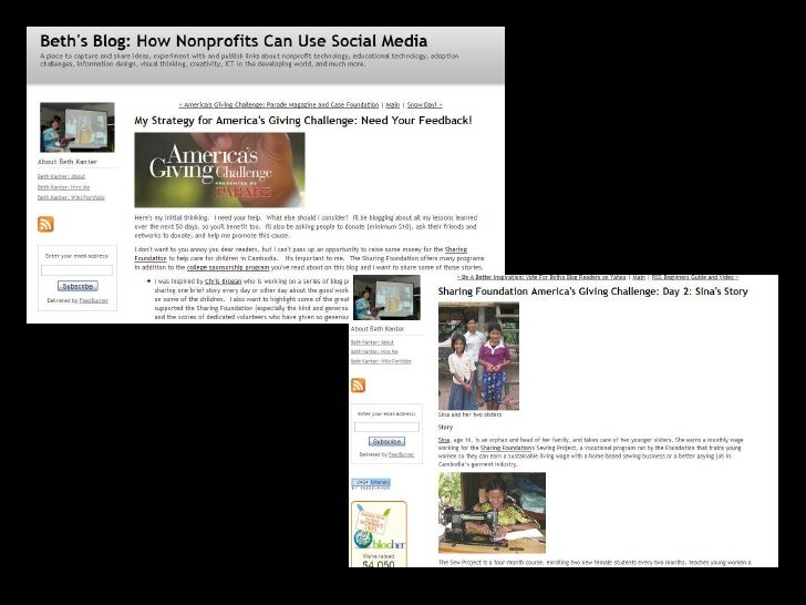 Social Media for nonprofits: Overview