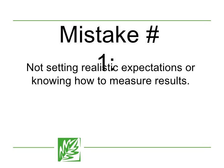 The 10 Most Common Mistakes in Social Media Marketing and How to Avoid Them Slide 2