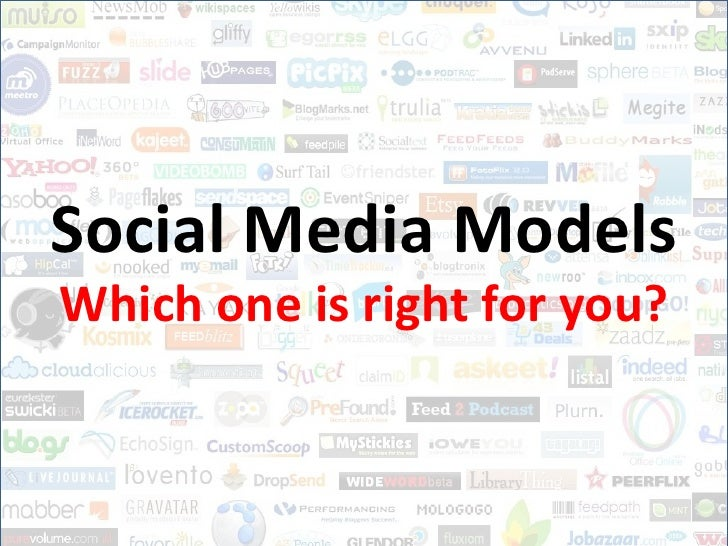 Social Media Models<br />Which one is right for you?<br />