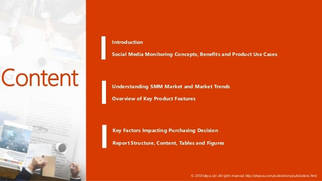 Social Media Monitoring Tools and Services Presentation 2018 Slide 2