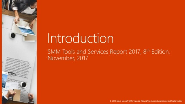 Social Media Monitoring Tools and Services Presentation 2018 Slide 3