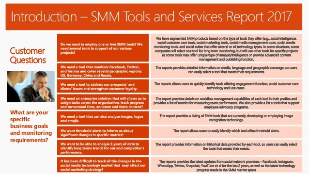 Social Media Monitoring Tools and Services Presentation 2018